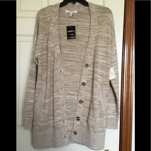 Forever 21 Contemporary Cardigan Sweater